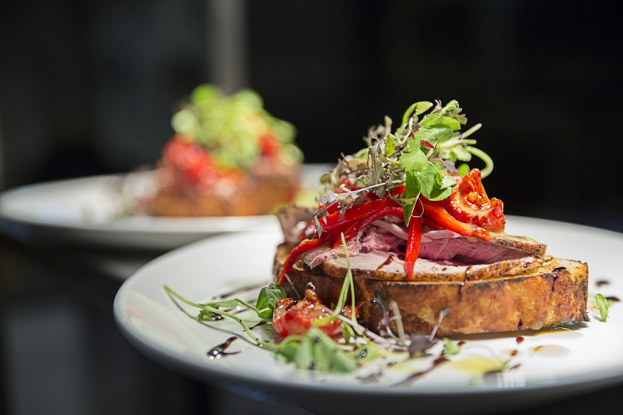 Shakespeare, Canterbury - Open sandwich